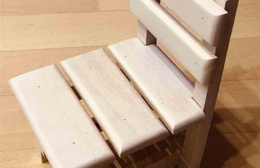 よもぎ蒸し用の椅子を手作りする